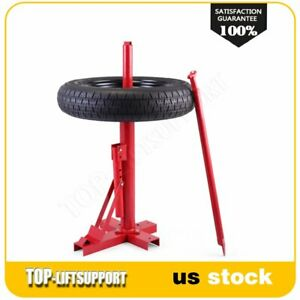 Portable Manual Tire Changer Bead Breaker Automotive Shop Tool Red High Quantity