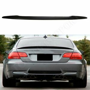 Fuel Efficiency For 2007 2013 Bmw E92 Coupe 328i 335i M3 Trunk Spoiler Wing