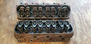 Used 5 0l Stamped Id F77e Ford Gt40p Cylinder Heads Set 89 93 97 01 289 302 351w