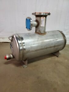 Mueller 25 Gallon Model h 304 Stainless Steel Horizontal Tank 120 F