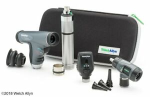 Welch Allyn Enhanced Diagnostic Set Feat Coaxial Ophthalmoscope Panoptic Ophth