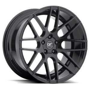 New Staggered Ground Force Gf7 18x8 9 5x108 35 40 Black