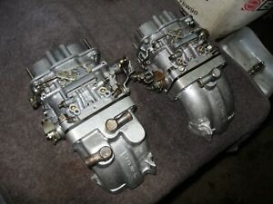 Fiat 128 X19 Yugo Kit Weber Dcnf 40 12 Rebult Clean And Is Ready To Put Alquati
