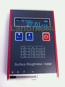 Uinch Um Ra Rz Rq rms Rt Portable Surface Roughness Tester Profilometer