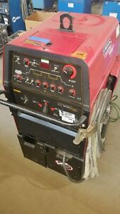 Lincoln Precision Tig 375 Tig Welder Package Tested And Fully Functional