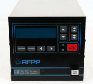 Advanced Energy Rfpp Rf 5s Rf Generator Power Supply Ae Rf5s 500w 13 56 Mhz