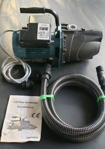 Central Machinery Jet Pump Pressure Booster Electric Water Garden 1 Hp Italy