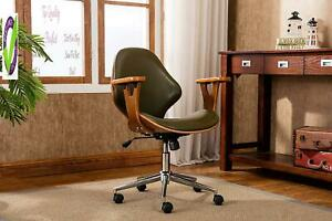 Porthos Home Skc009a Grn Lilian Office Chairs In Mid Century Modern Design With