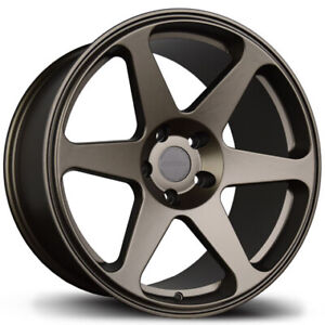 Avid1 Av38 18x8 5 35 18x9 5 38 5x114 3 Bronze Staggered Set Of 4