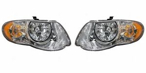 2005 2006 2007 Chrysler Town Country 119 Inch Headlights Left Right Pair