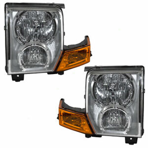 Fits For 2006 2007 2008 2009 2010 Jeep Commander Headlights Pair Right
