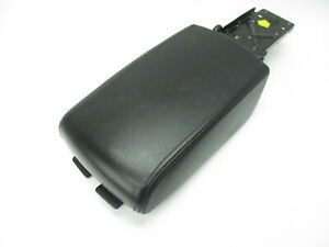 Nissan Altima Front Center Console Arm Rest Lid Top Cover Black Leather 05 06