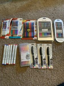 Pen Lot Energel Copic Markers Tul Gel Pentsl Tradio Stylo Kaisercraft Gel Pastel
