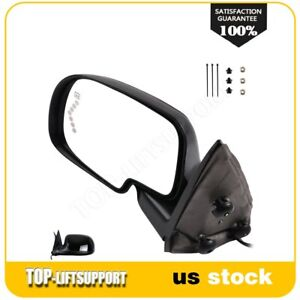 For 2003 2007 Gmc Chevy Truck Power Heated Signal Driver Left Side View Mirror