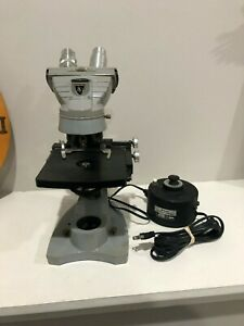 American Optical Spencer Microscope W Transformer Tested