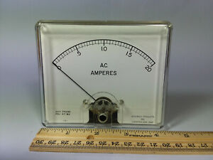 Vintage Assembly Products Inc Ammeter Gauge Meter Chesterland Ohio