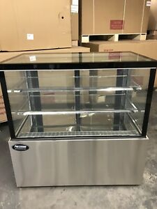 Bakery Case Refrigerated Pastry Deli 4 Display Case 48 Cake Show Case Counter