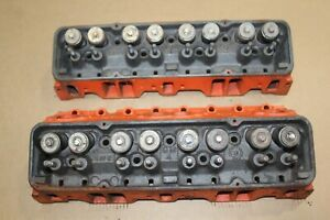 1964 1965 Corvette 327 Small Block Chevy Sbc Hump Cylinder Heads 3782461 461