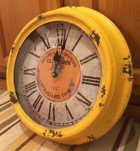 Old Town Repairs And Restorations 15 Wall Clock Standard Time Est 1863 Clock