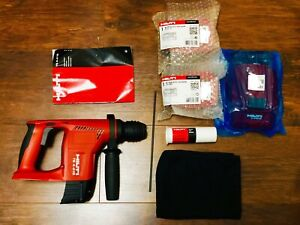 Hilti Te4 a18 Cordless Rotary Hammer Drill 2x 18v Battery Charger Brand New