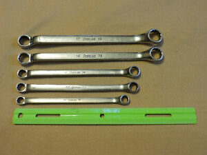 Snap On 5pc 12 point Metric Offset Double Box Wrench Set Xbm Series