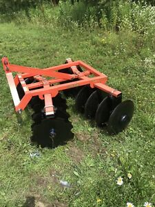 Landpride Dh1060 Disc Harrow Cat I 3 Point Hitch Barely Used