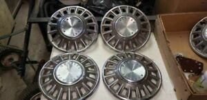 1968 68 Ford Mustang Hubcaps Wheelcovers Center Caps Wheels Fomoco Vintage