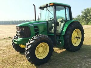 2012 John Deere 6430 Tractor 1214 Hours 4x4 Powerquad Plus Transmission