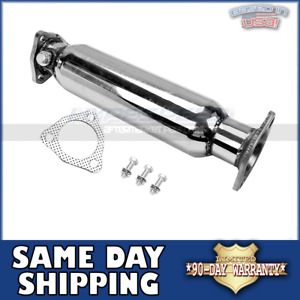 Stainless 304 Test Pipe Cat For 88 00 Honda Civic Delsol Crx 90 01 Acura Integra