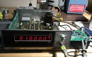 Serviced Calibrated Bk Precision 1801 Auto Frequency Counter 20hz To 40mhz