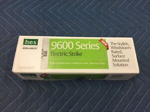 New Hes 9600 12 24 630 Assa Abloy 9600 Series Electric Strike 24v dc D325060