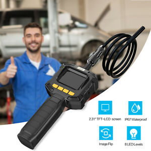Flexible Borescope Inspection Camera Handheld 2 31 Tft Lcd Industrial Endoscope