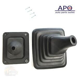 Munual Trans Shifter Lever Outer Rubber Boot Cover For Ford Bronco Fseries 90 97