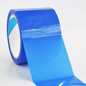 24 Rolls Color Packaging Packing Tape 3 X 55 Yd Carton Sealing Blue Tapes