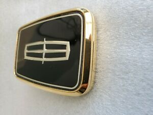 1991 1996 Lincoln Continental Gold Trunk Lock Emblem New Other