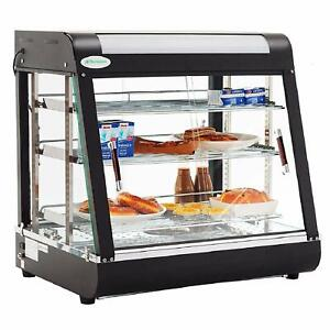 Suncoo Commercial Food Warmer Display 27 Inch Hot Food Countertop Case Restauran