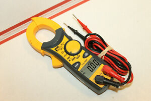 Ideal 61 746 Pro Clamp Meter 600 Amp Ac With Instruction And Lead Cords Works