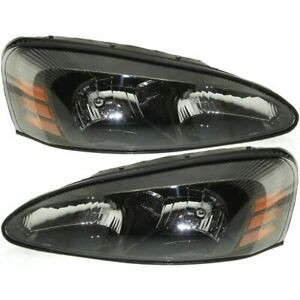 Fit For 2004 2005 2006 2007 2008 Pontiac Grand Prix Headlight Pair Right
