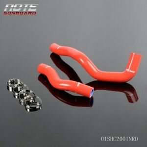 For Toyota Supra Jza80 Na Non Turbo 2jz Ge Silicone Radiator Hose Red