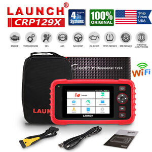 Launch Crp129x Obd2 Diagnostic Tool Scanner Abs Srs Engine Epb Sas Tpms Service
