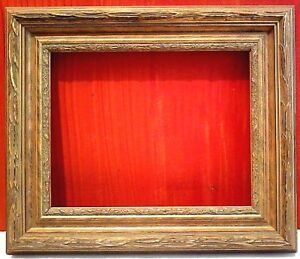 18 X 24 Standard Picture Frame 2 3 4 Wide Gold Leaf Classic Carved Canvas Allow