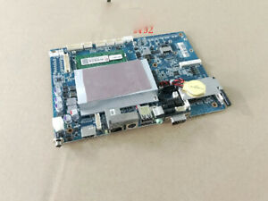 1pc Used Avalue 5 25 inch Embedded Fanless Atom D2550 Motherboard Ebm cdv A11
