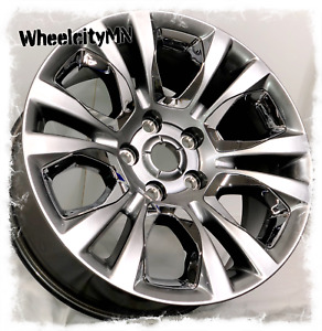 20 Inch Silver Chrome Inserts 2018 Ram 1500 Oe Factory Wheels 5x5 5 19 New 4x