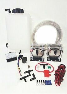 Hho Dry Cell Kit Hydrogen Generator Twin Dry Cells 4 Quart Tank