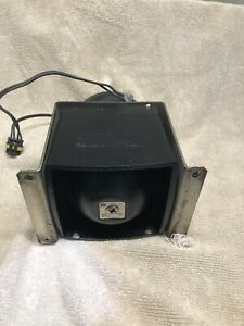 Federal Signal Bp 200 Series Siren Pa Speaker With Mount