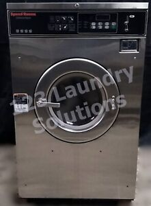 Speed Queen Front Load Washer 35lb 208 240v 60hz 3ph S n 1000179870 refurb