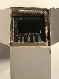 Omron H5cxa11n Plug In Digital Timer 11pin Multi range New