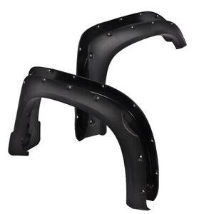 4pcs For 2014 2018 Toyota Tundra Pocket Rivet Fender Flares Set Textured Black