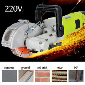 4kw Electric Wall Chaser Groove Cutting Concrete Cutter Notcher Slotting Machine