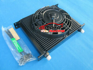 30 Row Engine Universal Transmission An 10an Oil Cooler Electric 7 Fan Kit